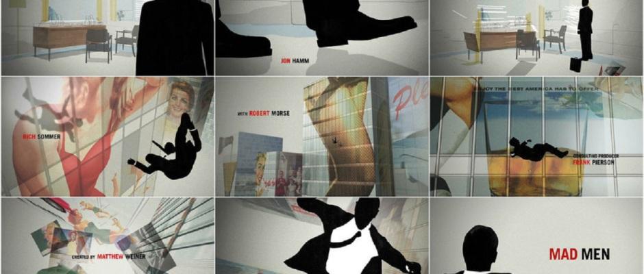 Fuente: No Submarines. Fotogramas de los títulos de crédito de Mad Men.